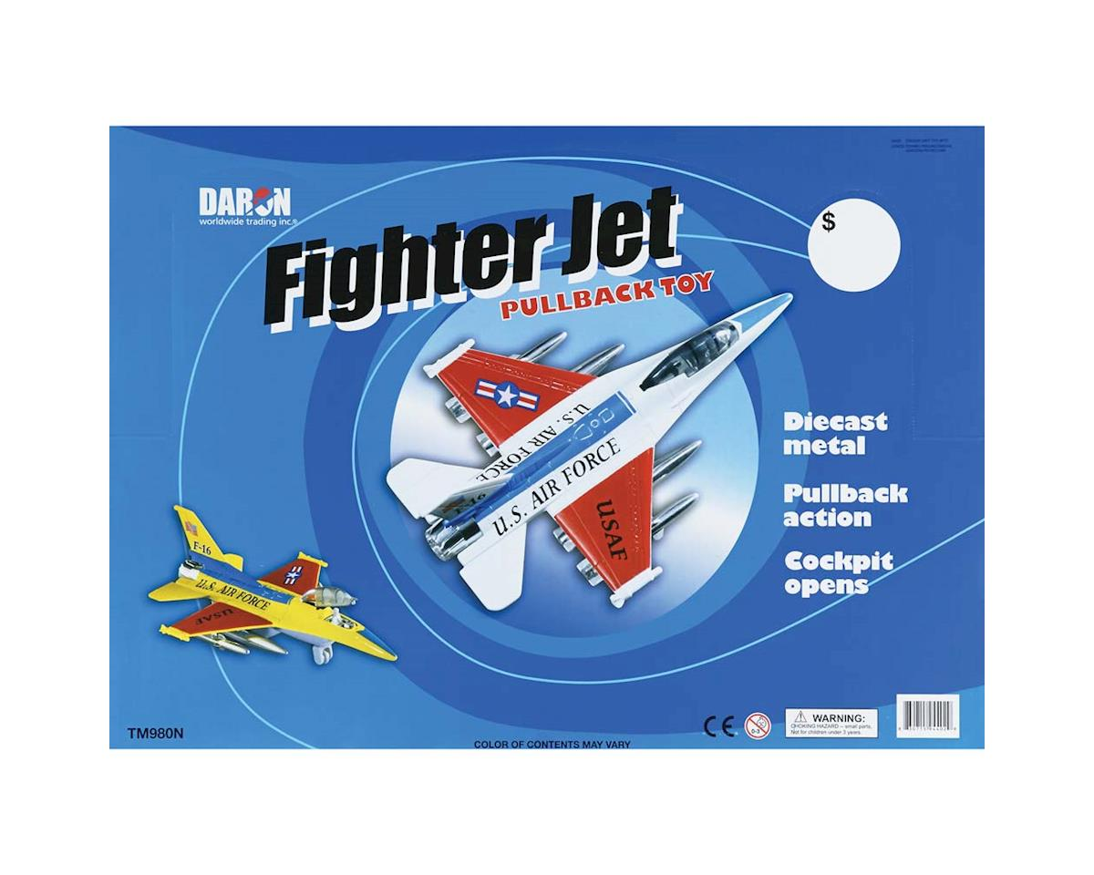 Daron Worldwide Trading 980N Jet Fighter 6pc Assortment (6)