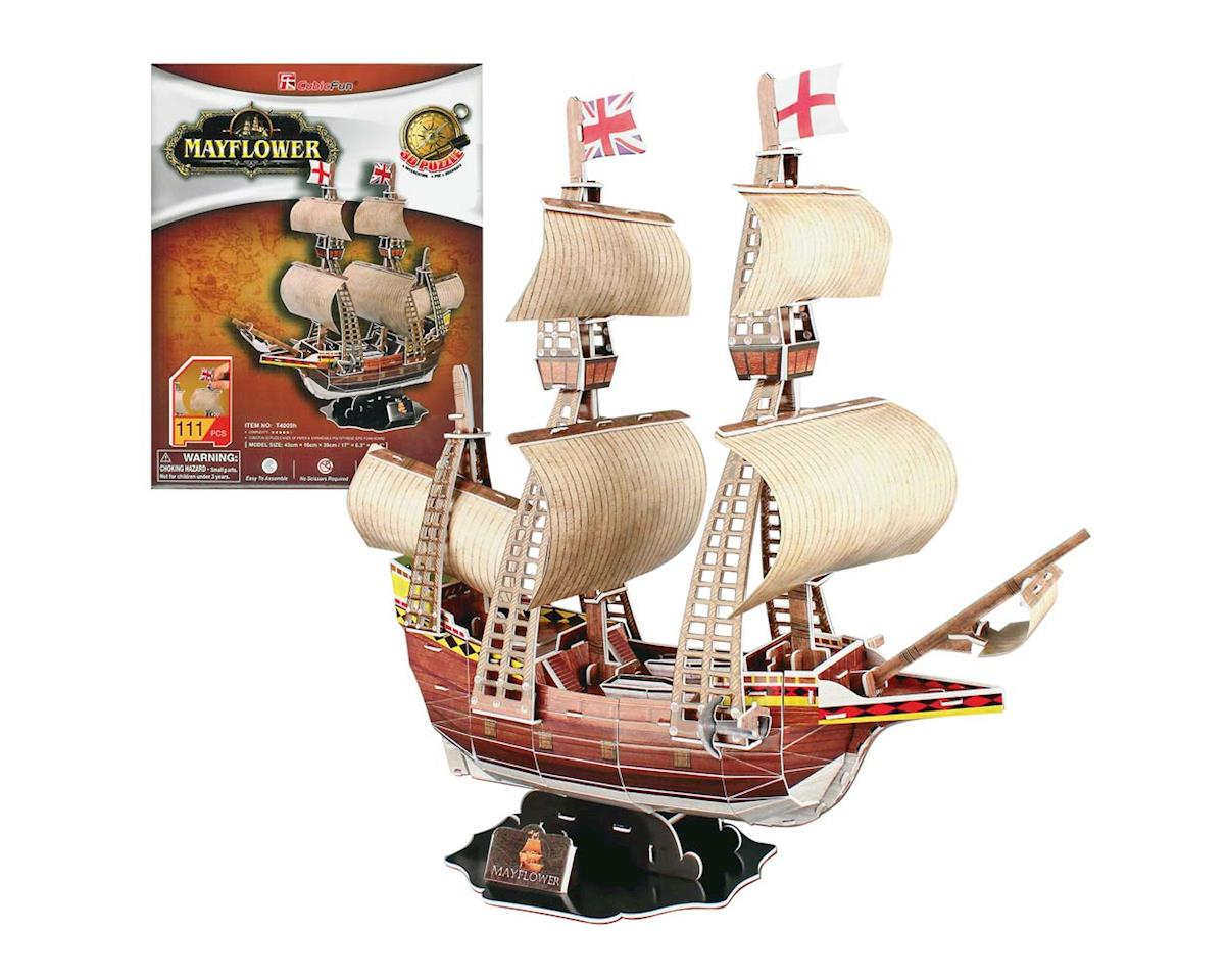 Daron Worldwide Trading CF4009H Mayflower 3D Puzzle 111pcs