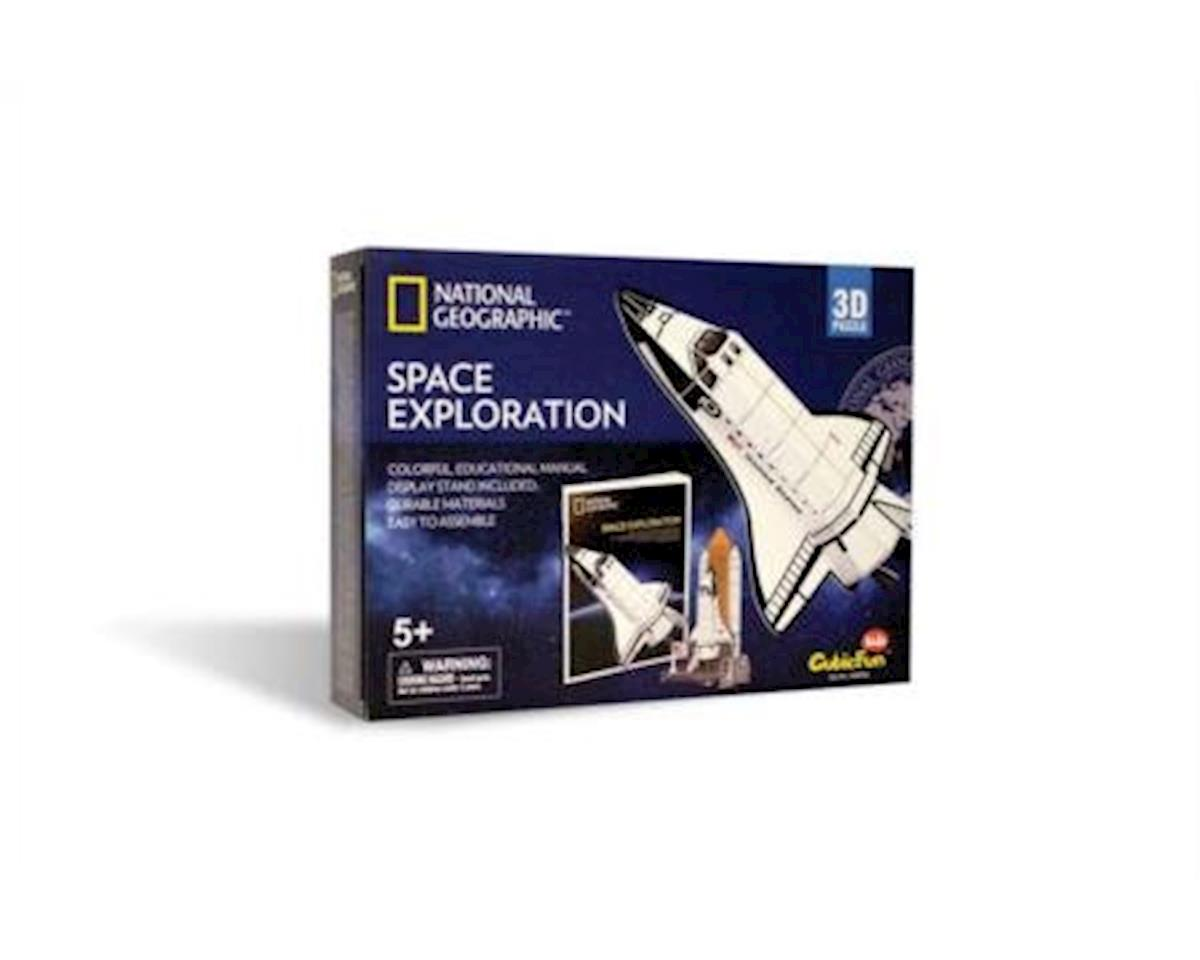 Daron Worldwide Trading CFDS0970H Space Exploration 3D Puzzle 65 Pieces National Geo Daron