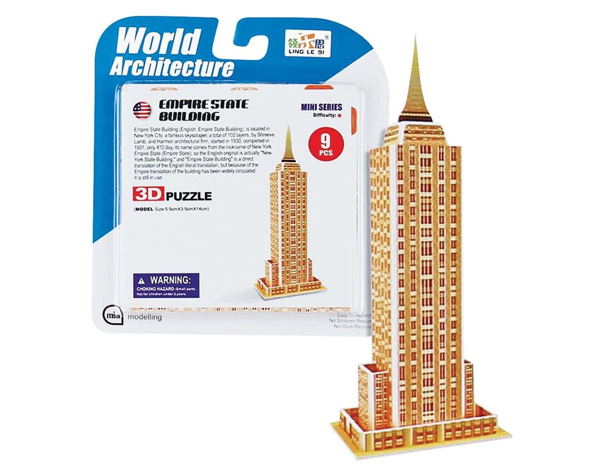 Daron Worldwide Trading CHC1314 Super Mini Empire State Building 3D Puzzle 9pcs