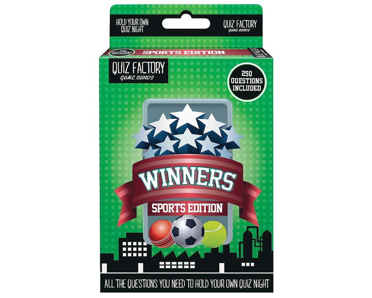 Daron Worldwide Trading FFQ003 Winners Sports Edition Travel Game