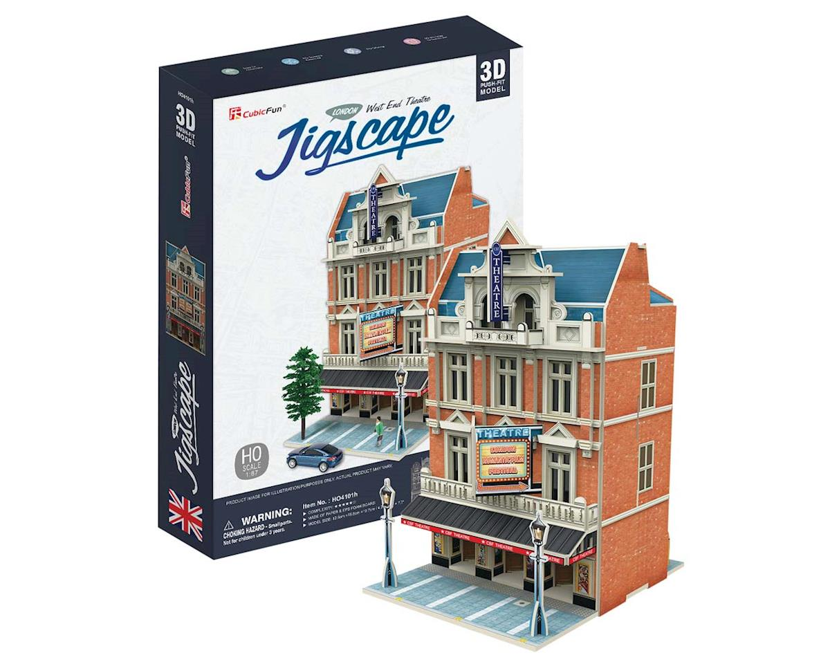 JigScape HO 3D West End Theatre (55pcs)