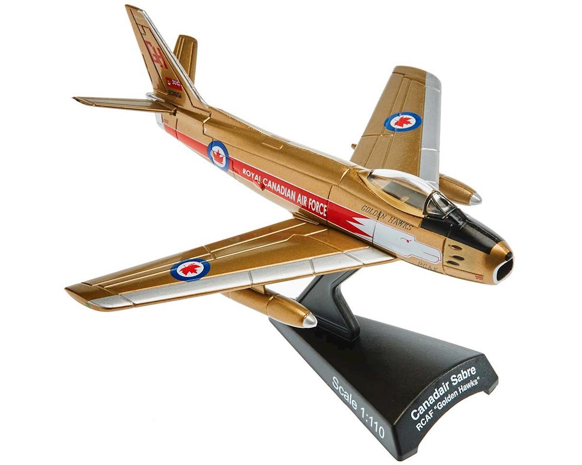 Daron Worldwide Trading PS5361-4 1/110 RCAF Canadair Sabre Golden Hawks