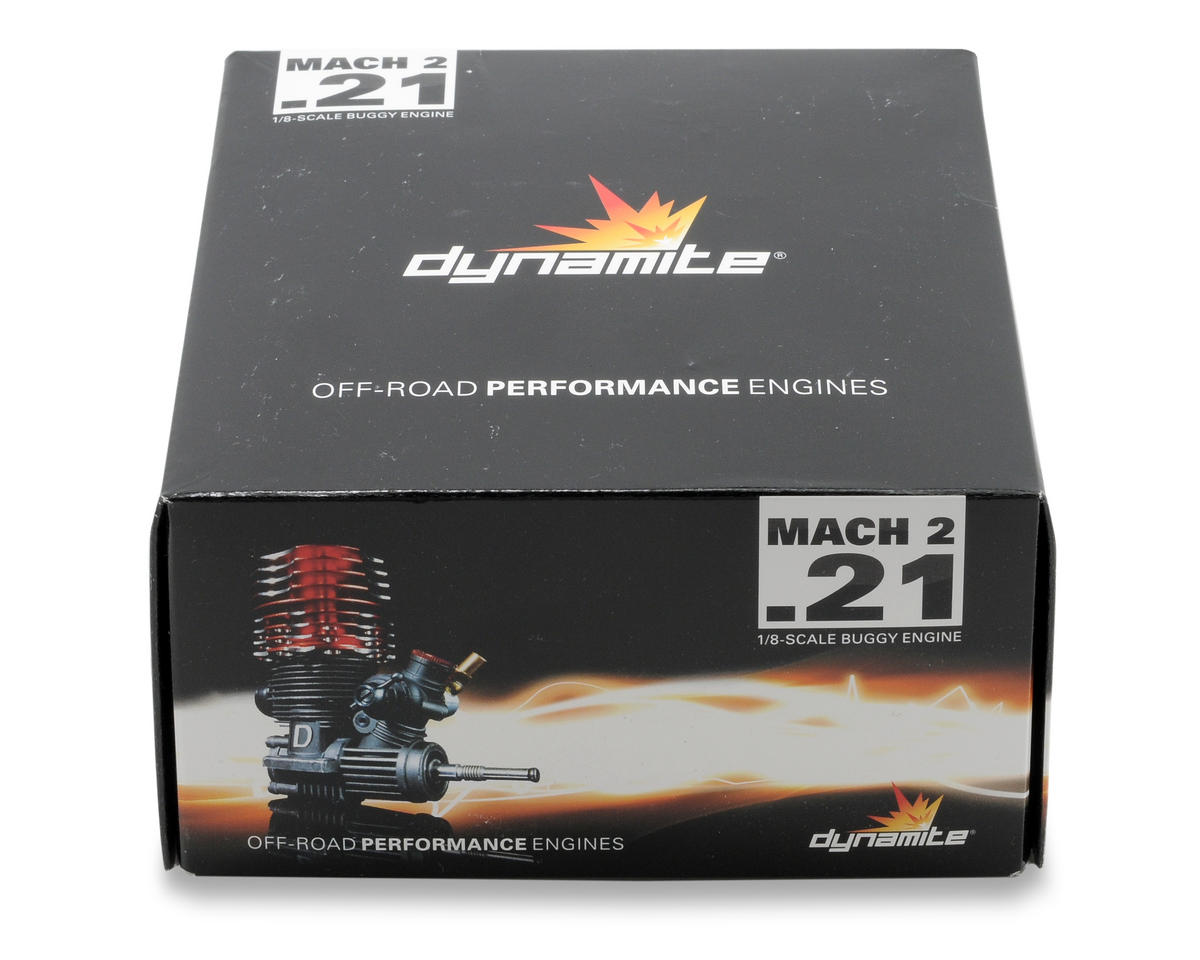Dynamite Mach 2 .21 SG Buggy Engine w/Pull-Spin Start Combo
