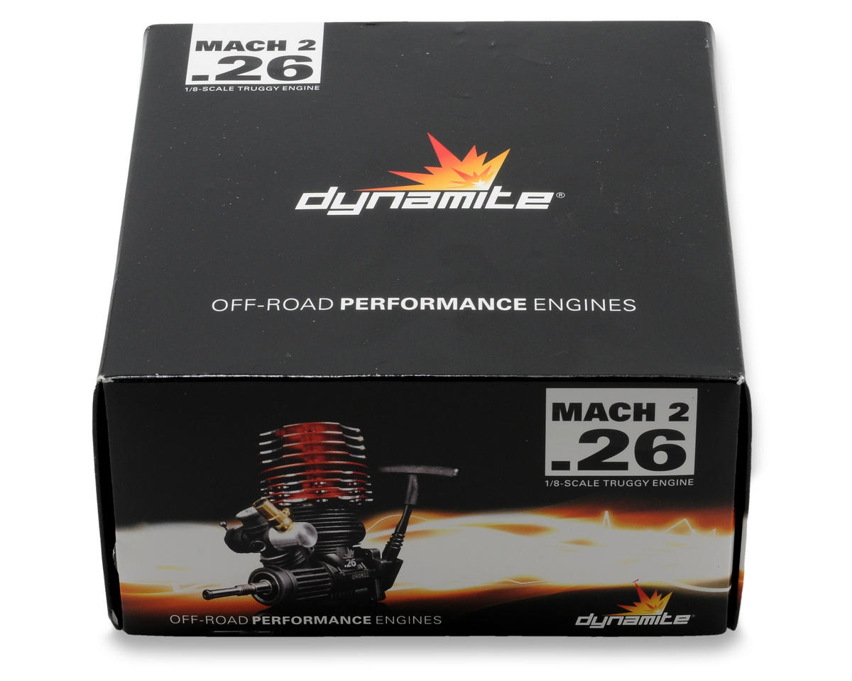 "Dynamite Mach 2 ""Truggy"" .26 w/Pull Spin Start Combo"