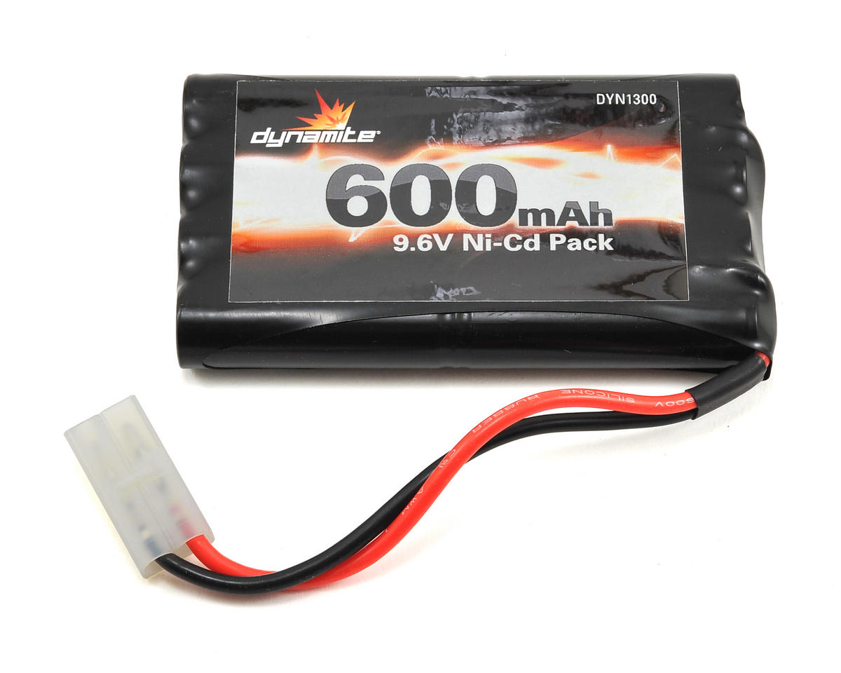 8-Cell NiCD Toy Battery Pack (9.6V/600mAh) by Dynamite