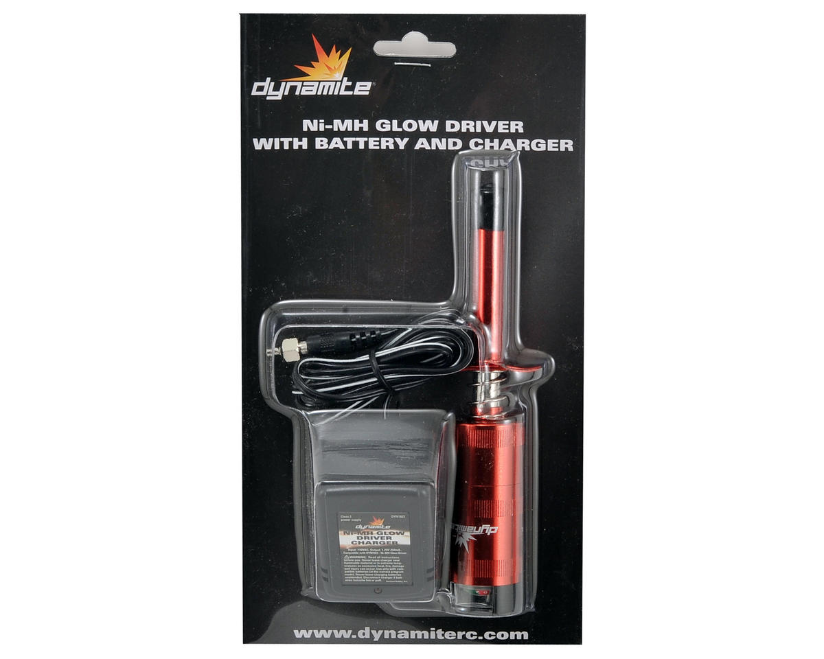 Dynamite Metered Glow Driver w/2600mAh NiMH & Charger