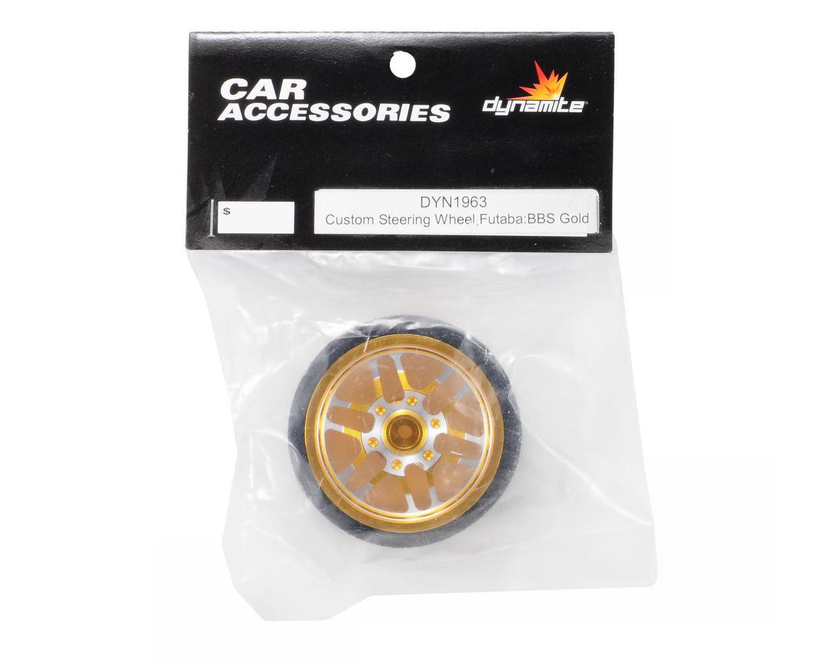 Dynamite Custom BBS Steering Wheel (Gold) (FUT)