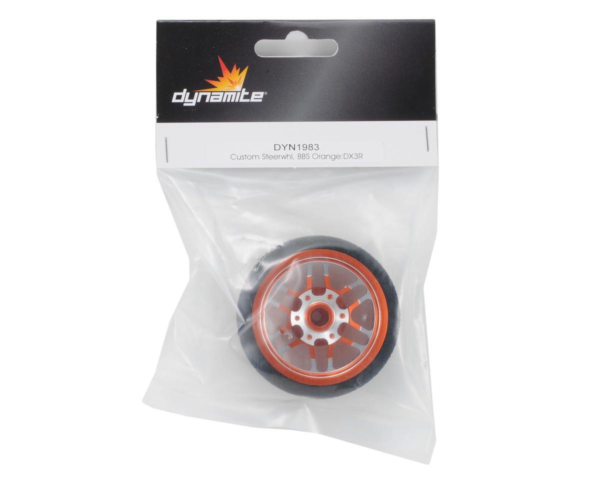 DX3R PRO Custom Steering Wheel (Orange) by Dynamite