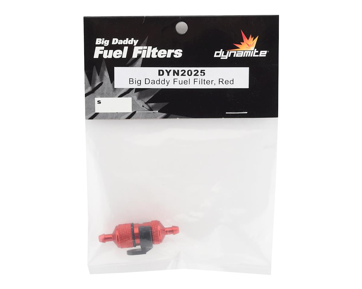 Dynamite Big Daddy Fuel Filter, Red