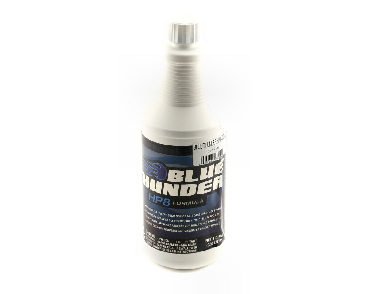 "Dynamite Blue Thunder ""HP8 Formula"" 20% Nitro Fuel (One Quart)"