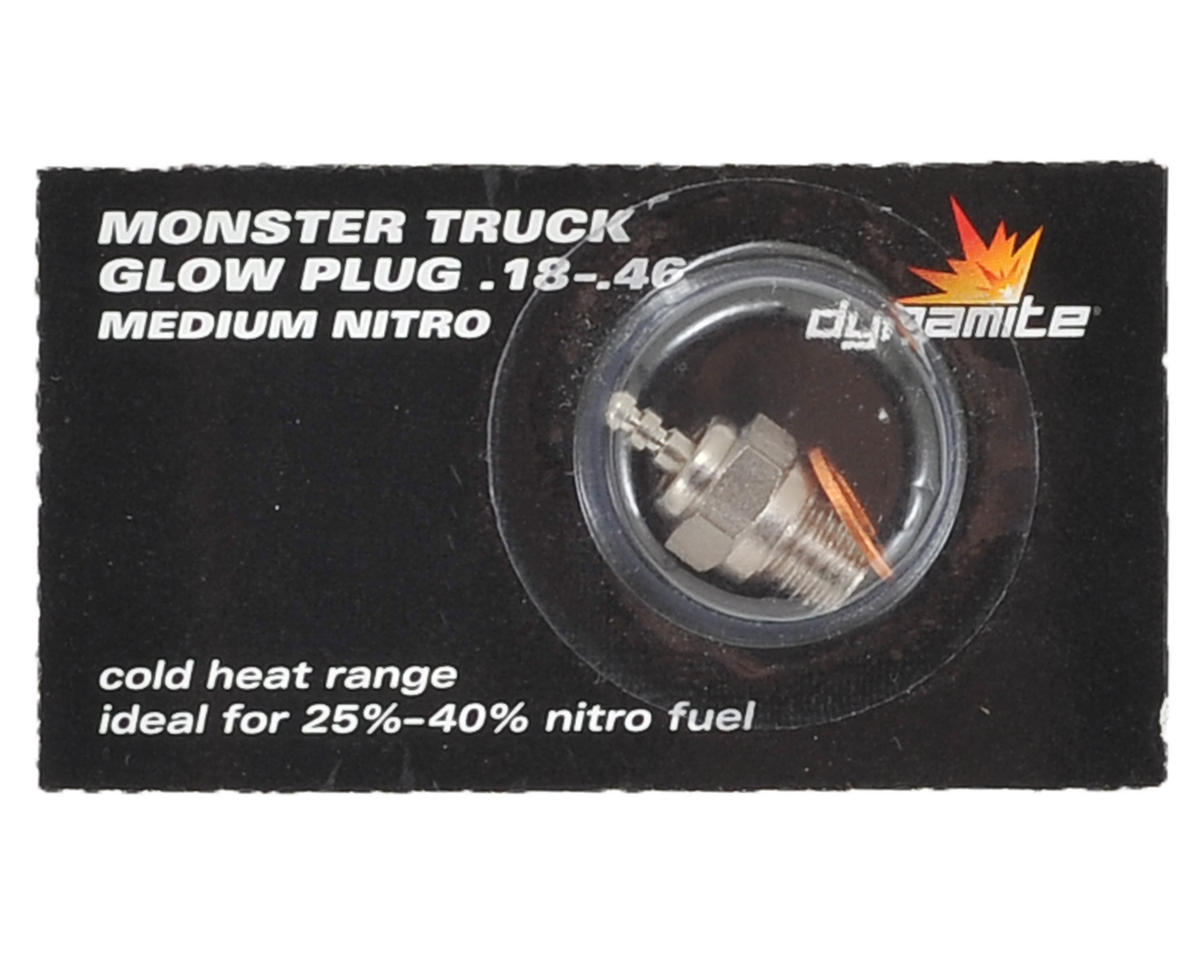 Monster Truck .18-.46 Nitro Plug (Medium) by Dynamite