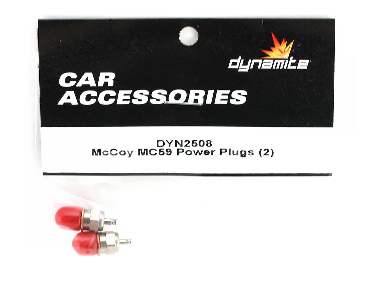 McCoy #59 Hot Glow Plug (2) by Dynamite