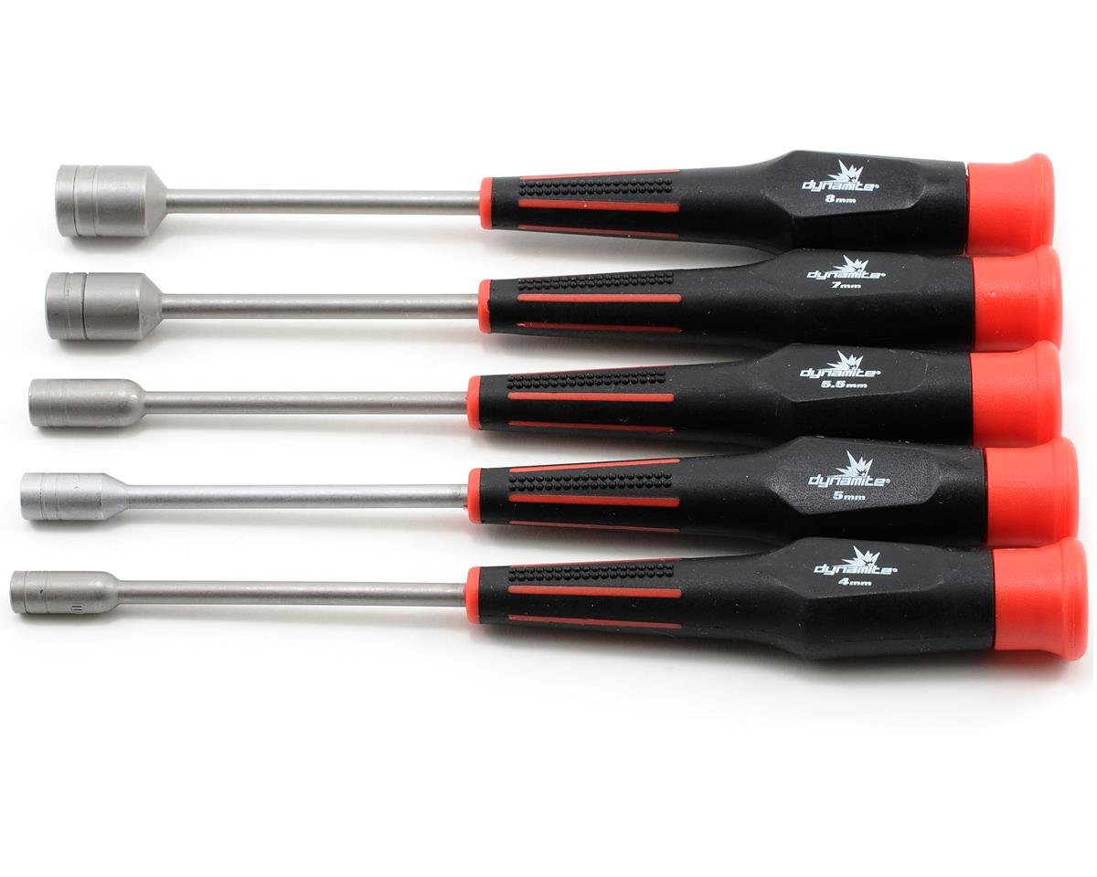 5 Piece Metric Nut Driver Set by Dynamite