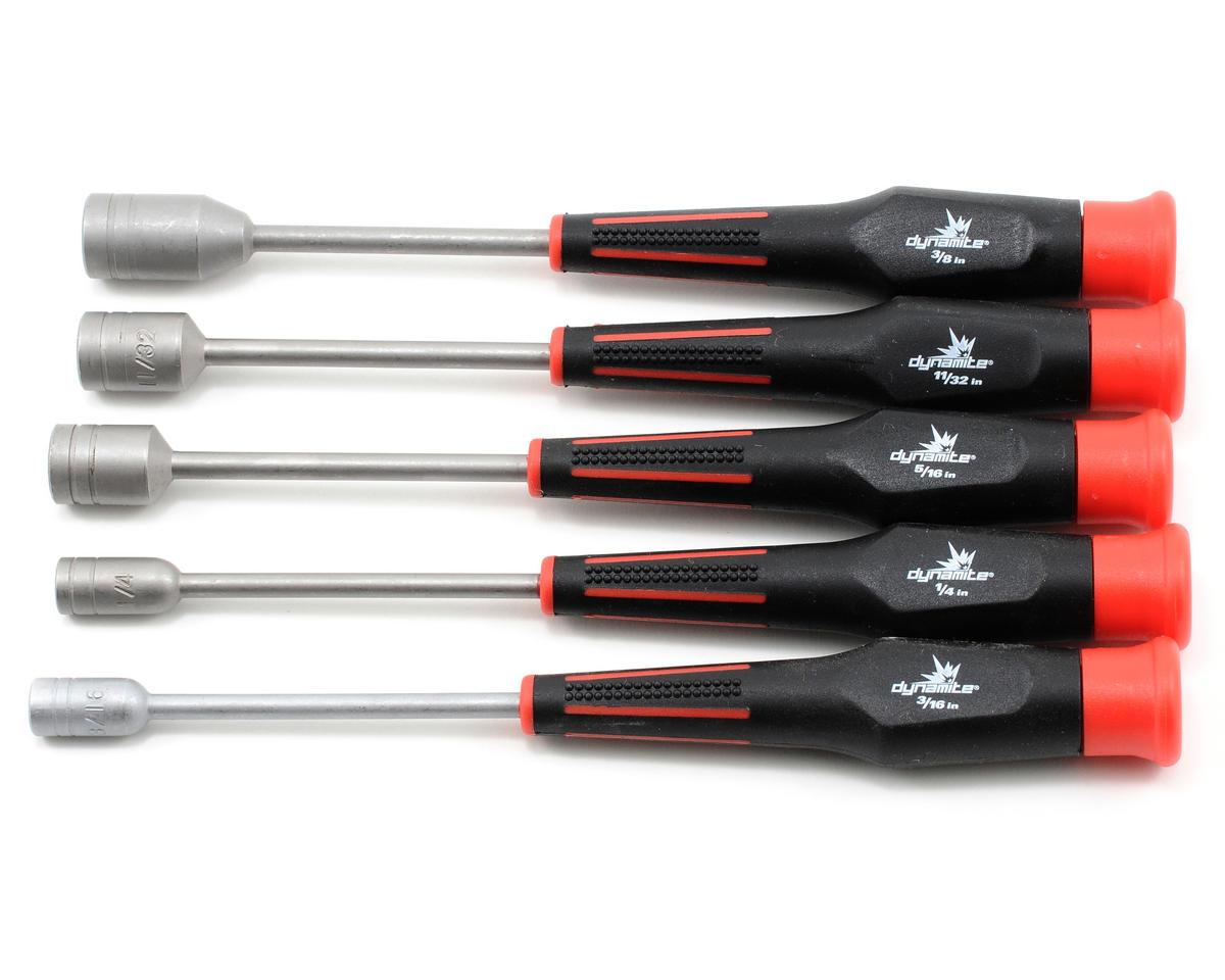 5 Piece Standard Nut Driver Set by Dynamite