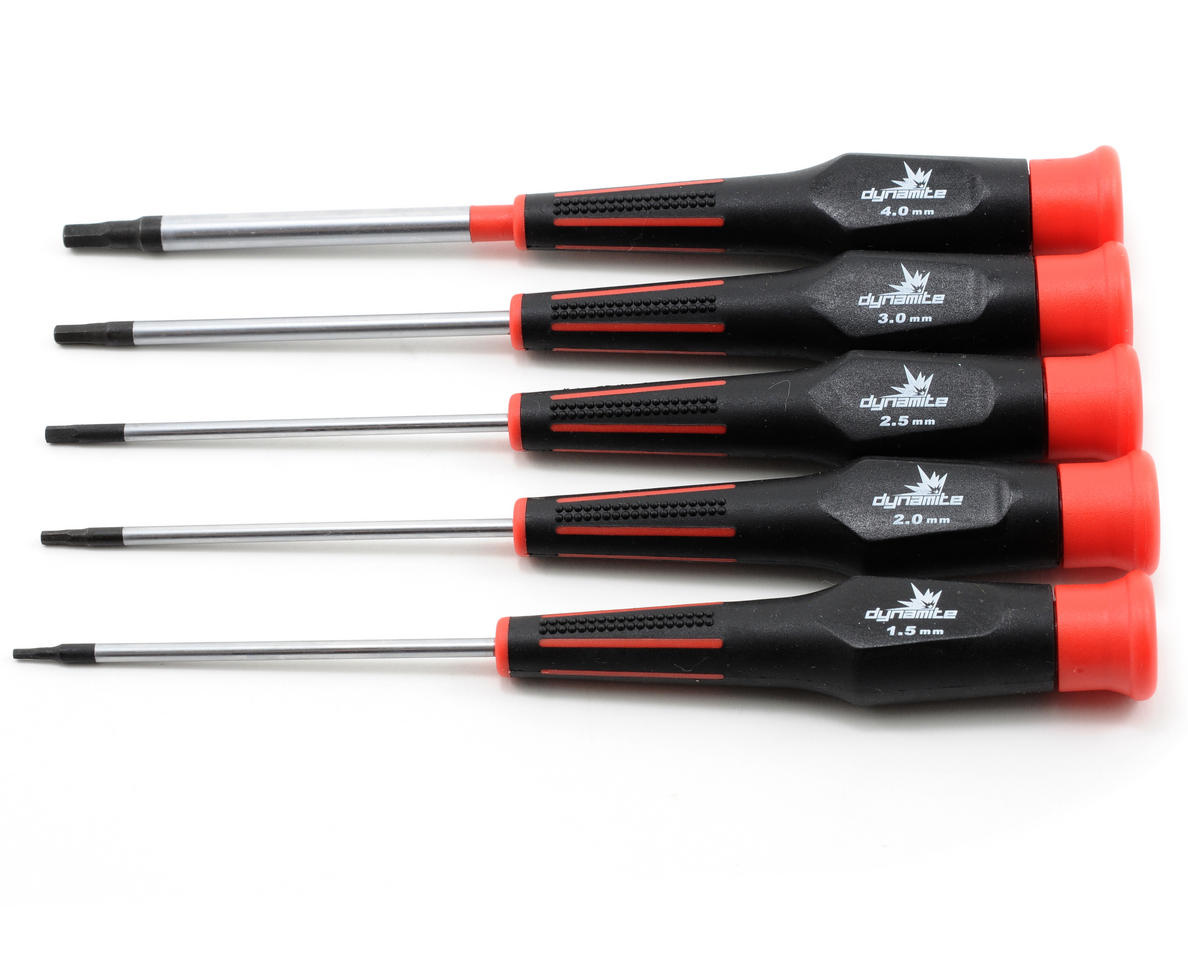 5 Piece Metric Hex Driver Set by Dynamite