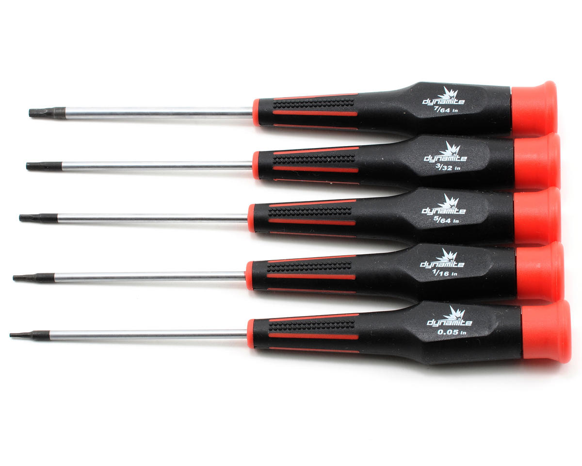 5 Piece Standard Hex Driver Set by Dynamite