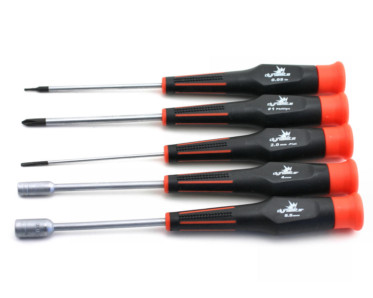 Dynamite 5pc Tool Set: Mini-T, Mini-LST