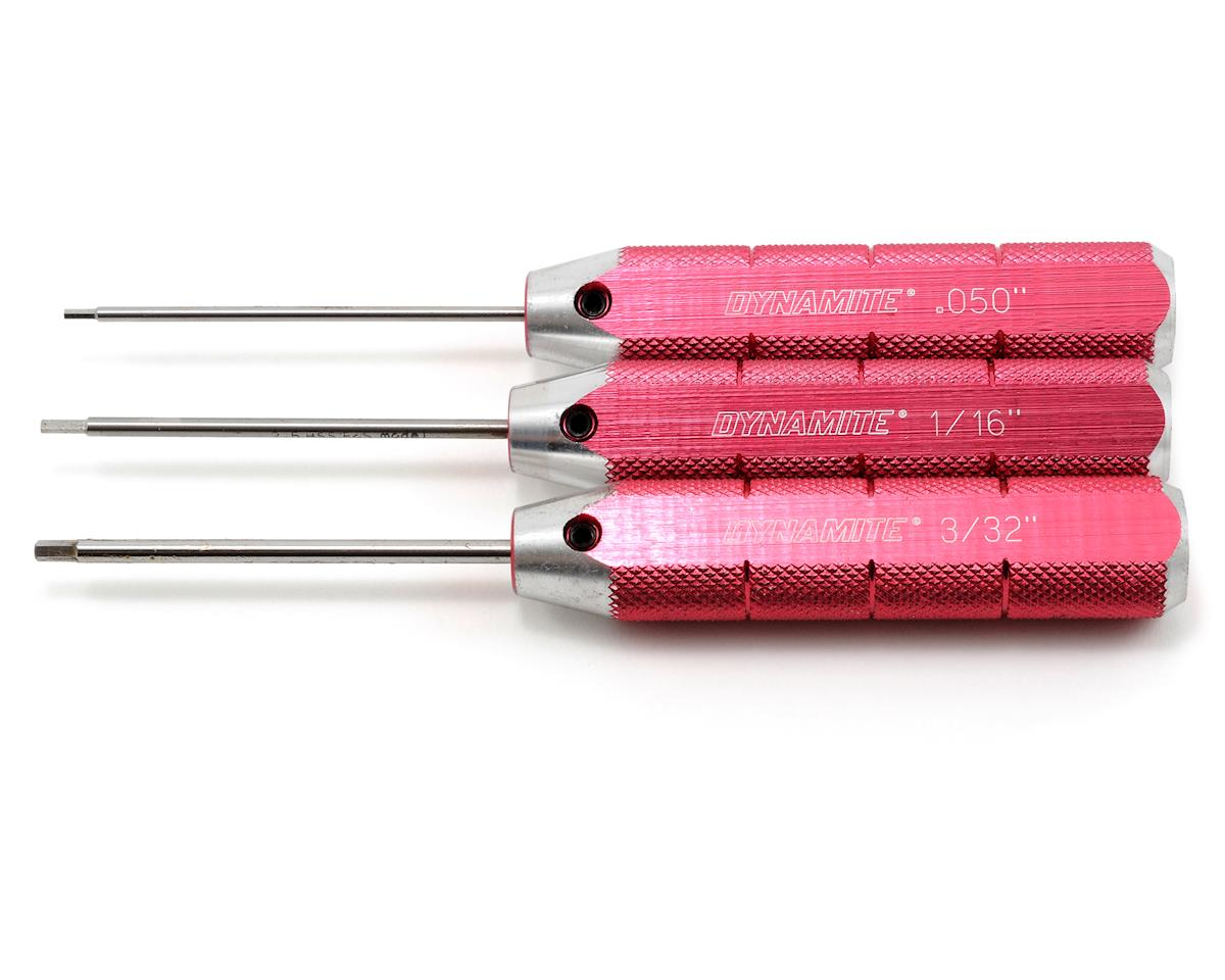 Dynamite Machined Hex Driver US Set (Red)