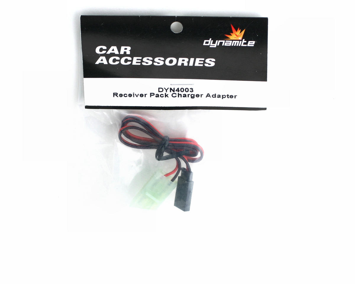 Dynamite Receiver Pack Charger Adapter