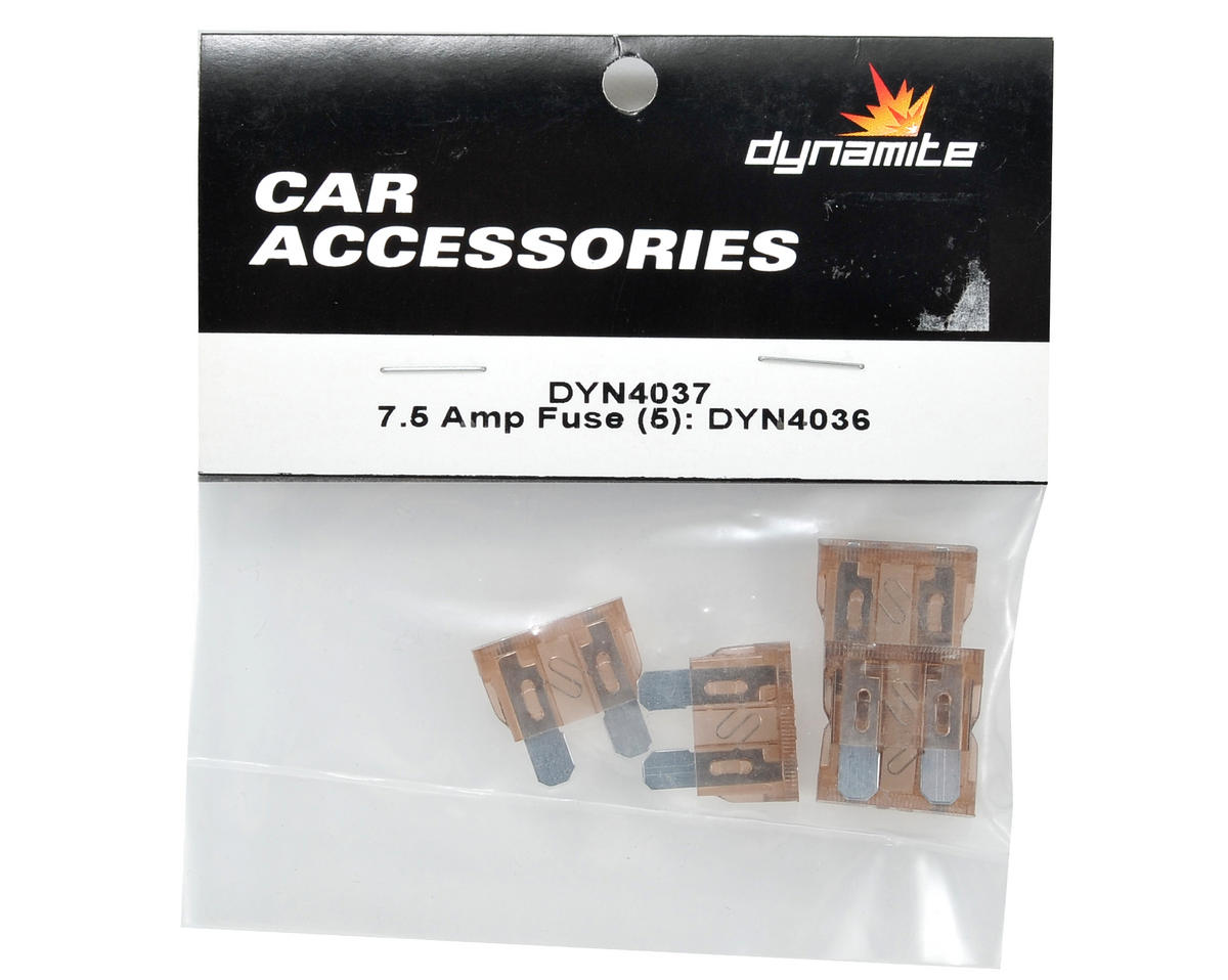 Dynamite 7.5-Amp Fuse (5)