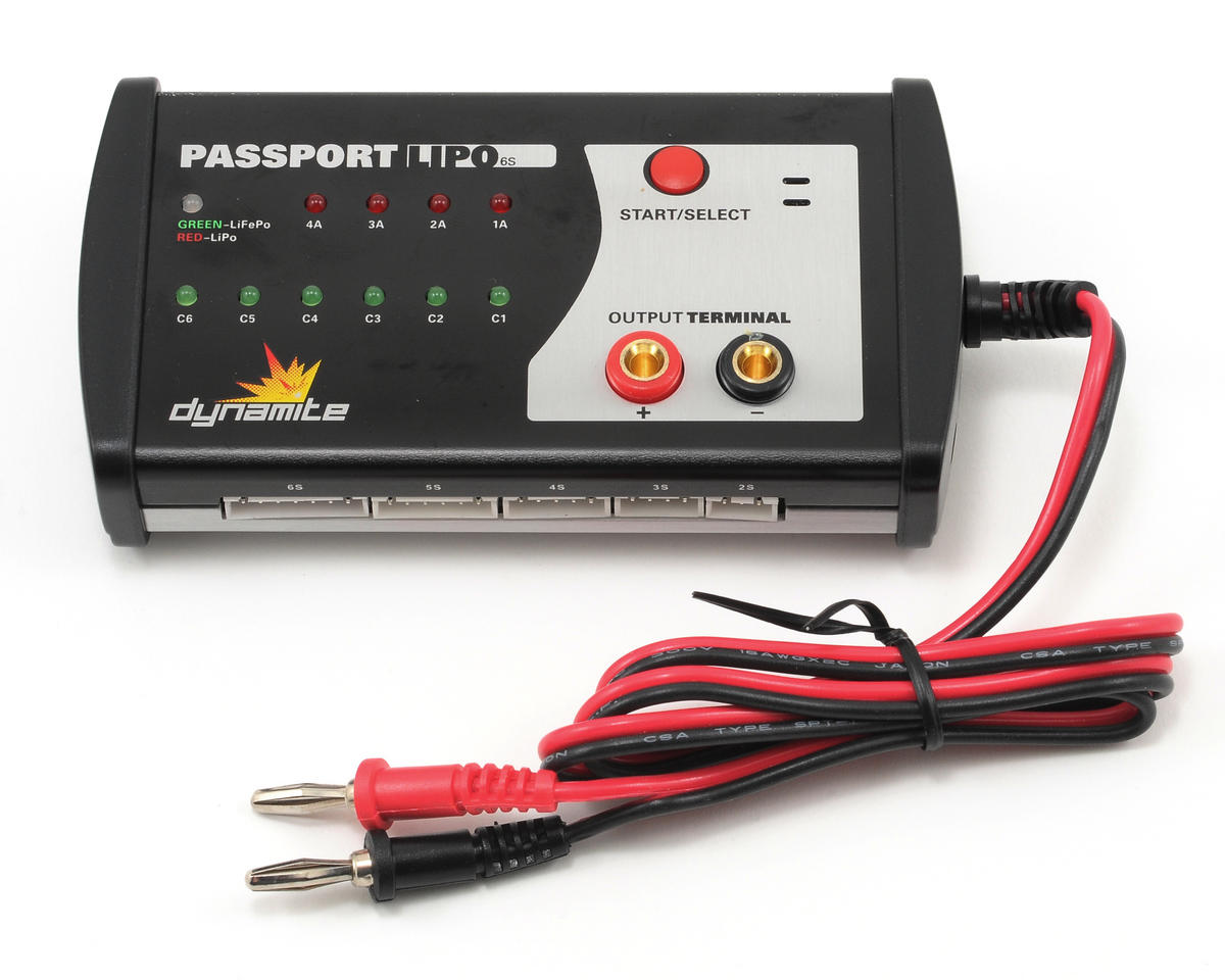 Dynamite Passport LiPo/Life DC Battery Charger (6S/4A)