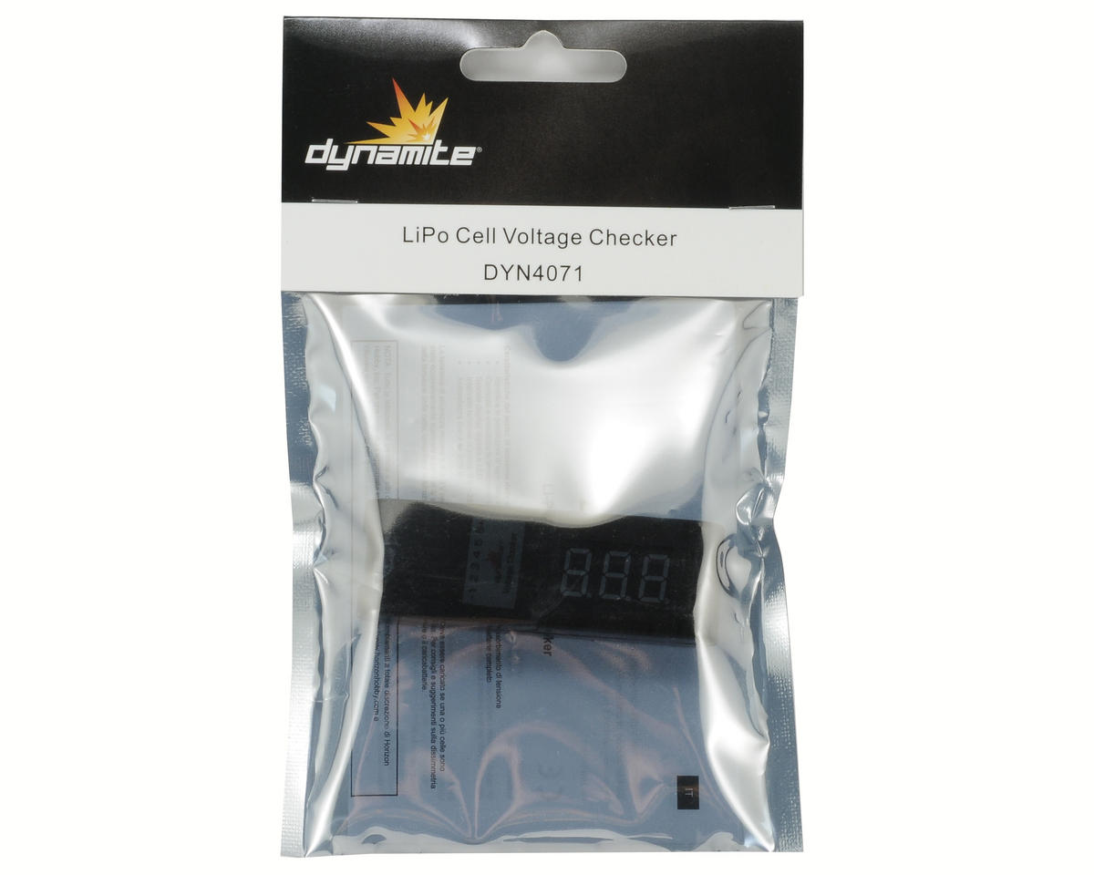 Dynamite LiPo Cell Voltage Checker