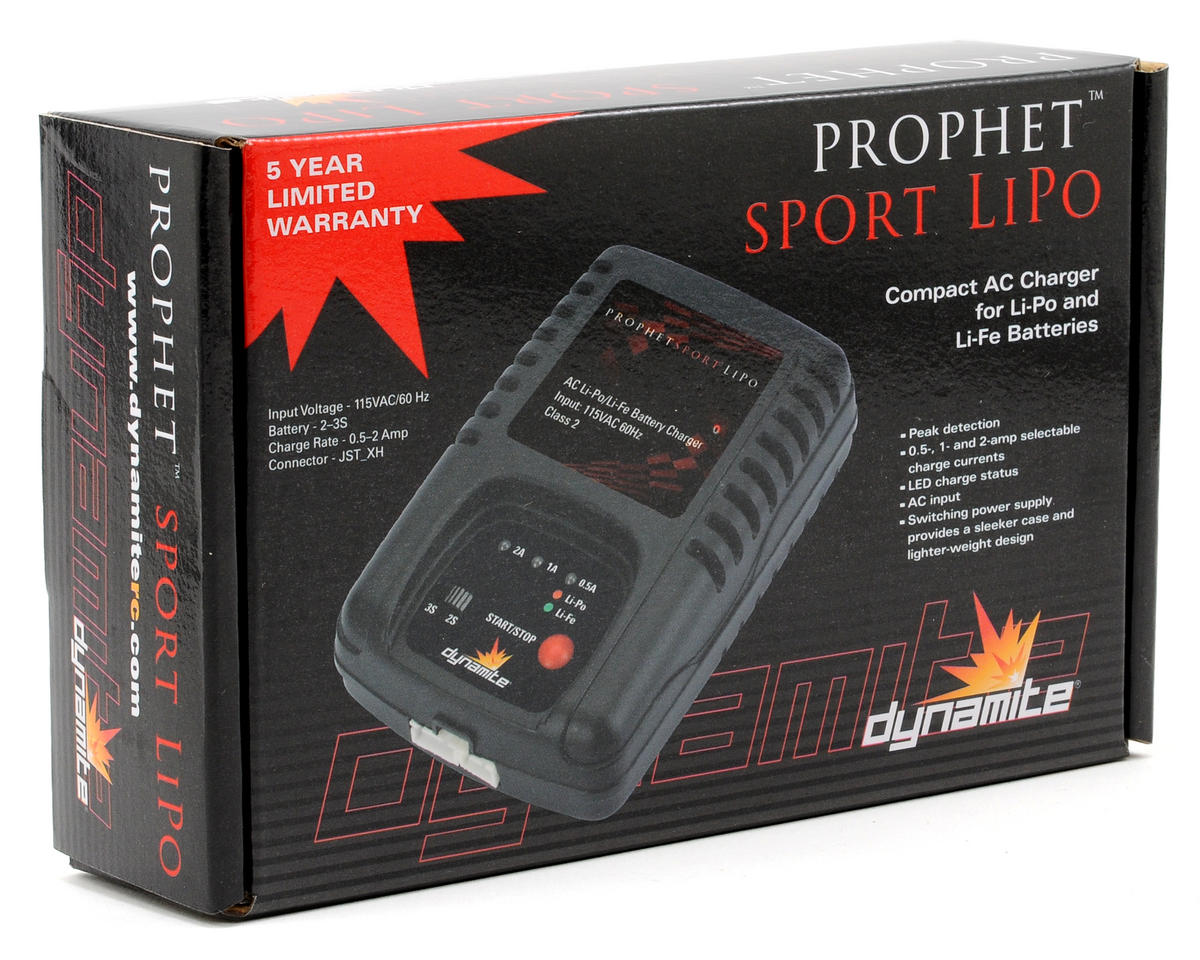 Dynamite Prophet Sport AC LiPo Charger (25W/2A/3S)