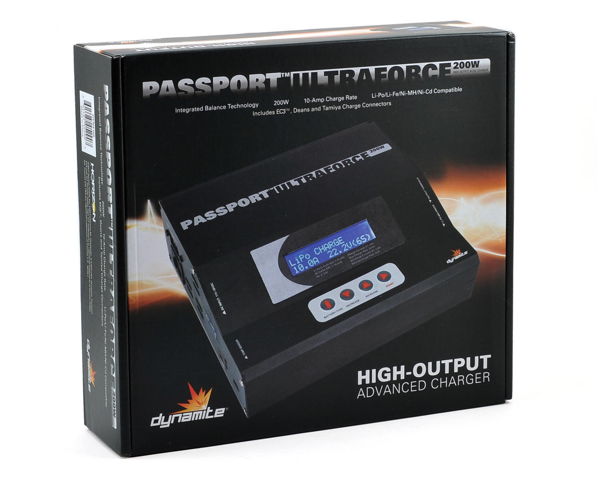 Dynamite Passport UltraForce AC/DC Charger (6S/10A/200W)