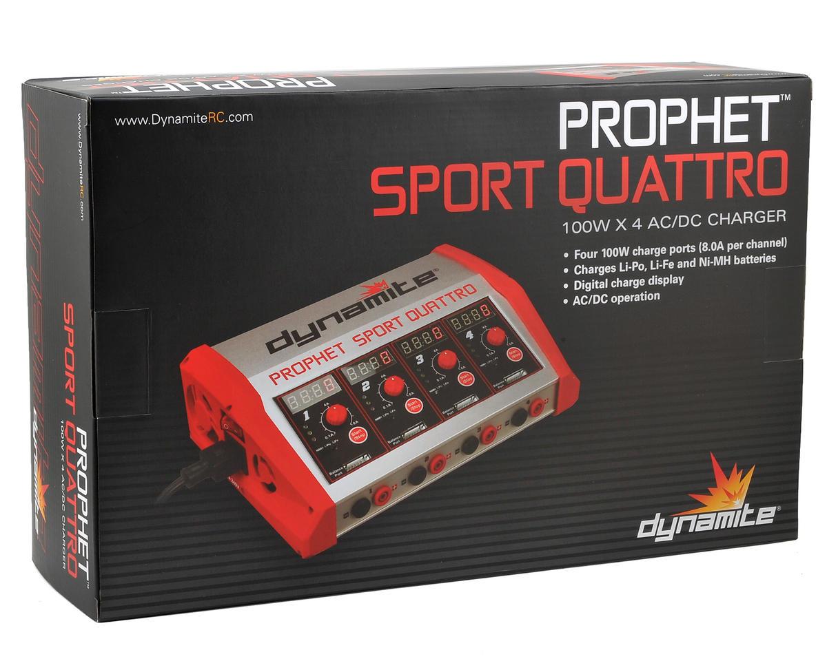 Dynamite Prophet Sport Quattro AC/DC Multi-Chemistry Charger (6S/8A/100W x 4)