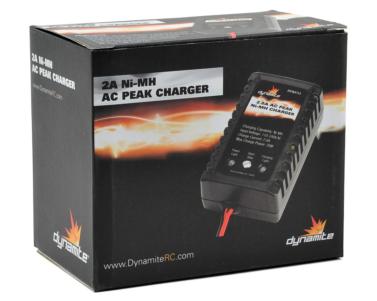 Dynamite 2A NiMH AC Charger