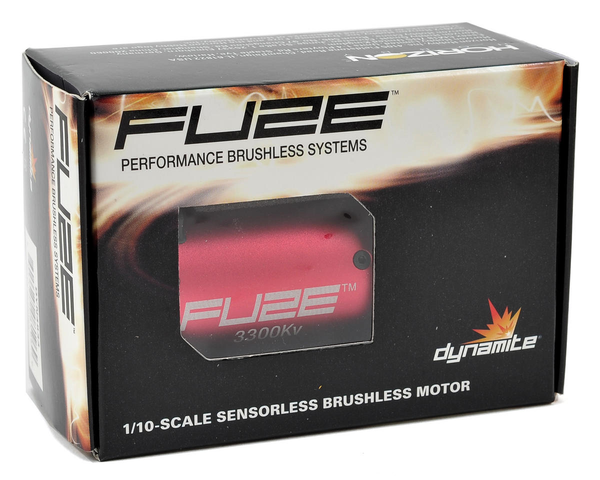 Dynamite Fuze 540 1/10 4-Pole Brushless Motor (3300kV)