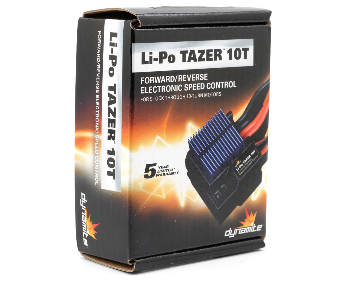 Dynamite LiPo Tazer 10T Brushed Electronic Speed Control