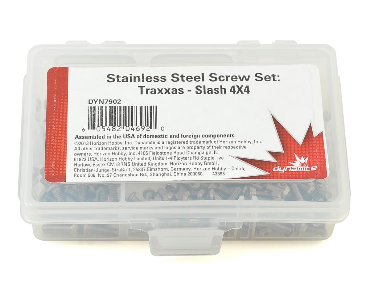Traxxas Slash 4X4 Screw Set by Dynamite
