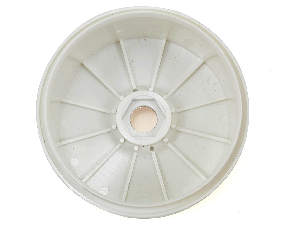 Dynamite Speadtreads 1/8 Buggy Dish Wheel (4) (White)