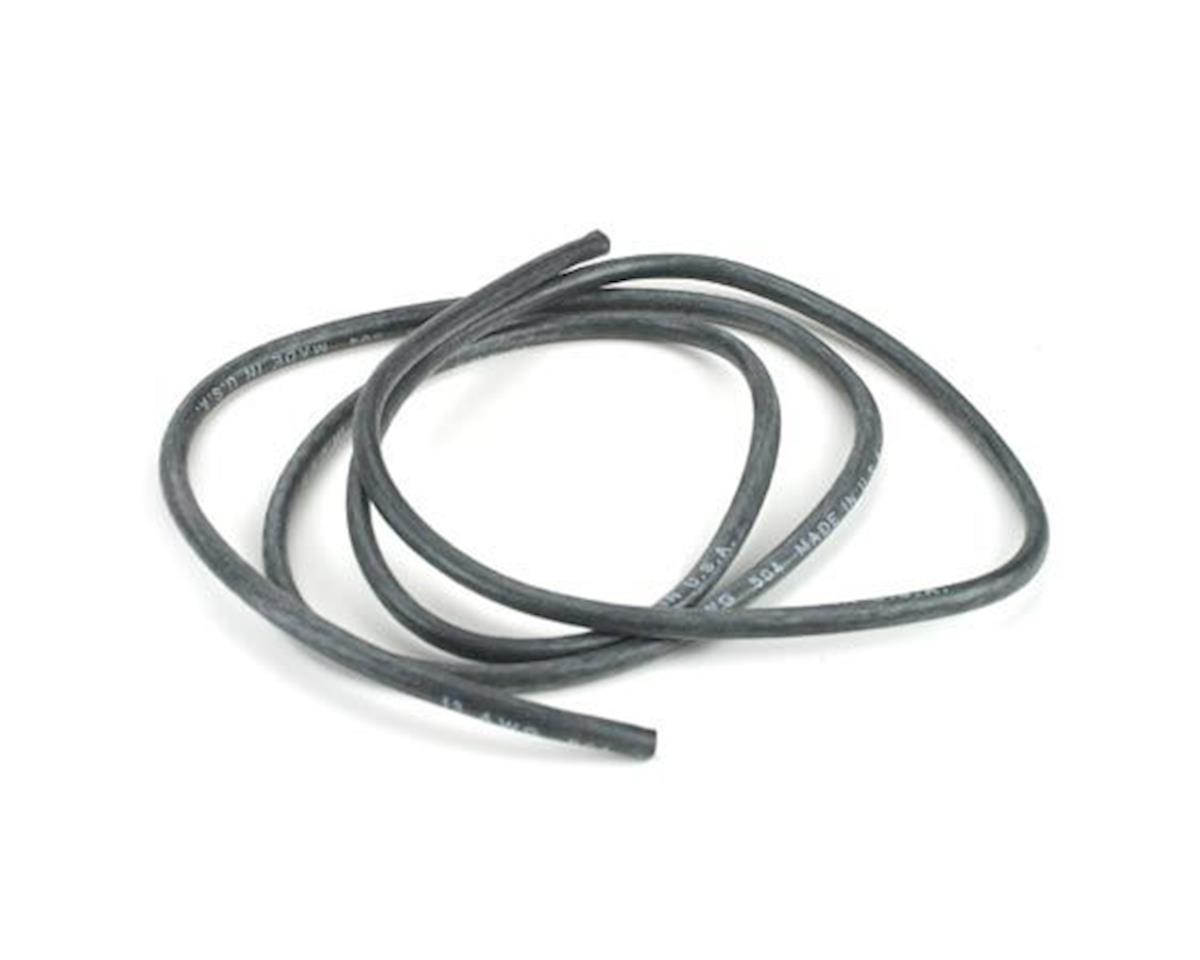 Dynamite 13AWG Silicone Wire 3', Black