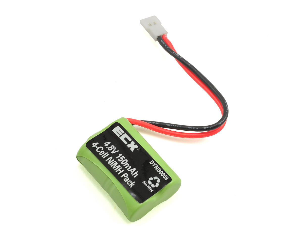 1/24 4WD Temper 4-Cell NiMh Battery (4.8V/150mAh) by Dynamite (ECX 1/24)