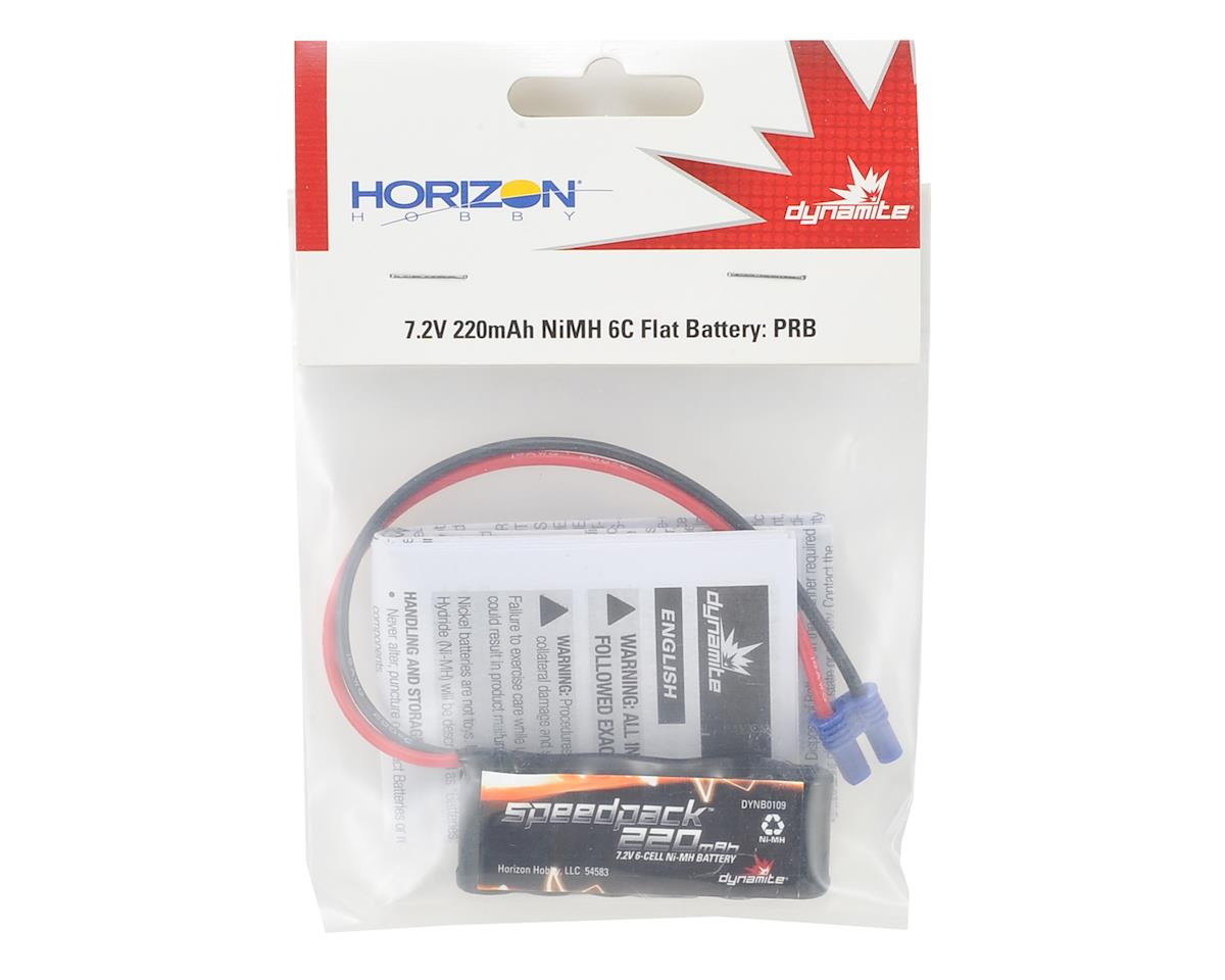 6-Cell 7.2V 220mAh Flat NiMH Battery Pack by Dynamite