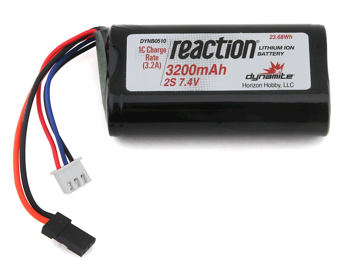Dynamite Li-Ion 2S Receiver Battery Pack (7.4V/3200MAh)