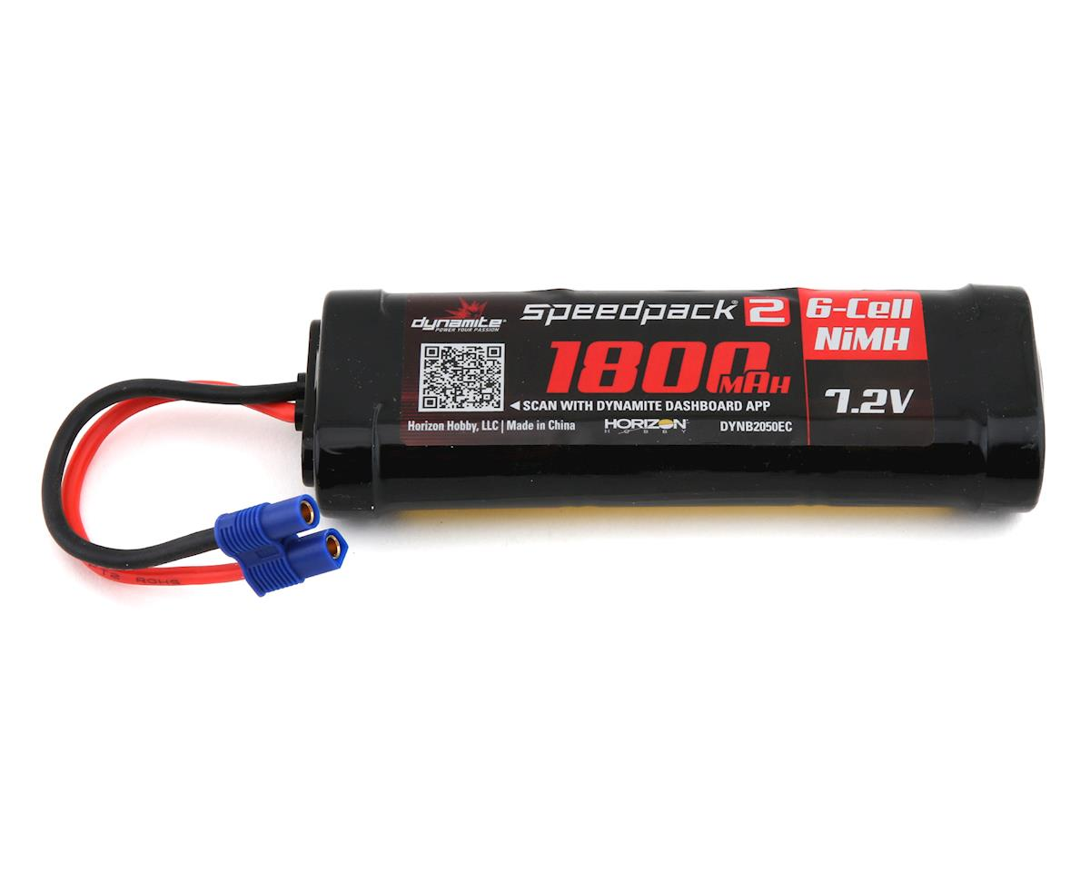 Dynamite 6-Cell Ni-MH Flat Battery Pack w/EC3 (7.2V/1800mAh)