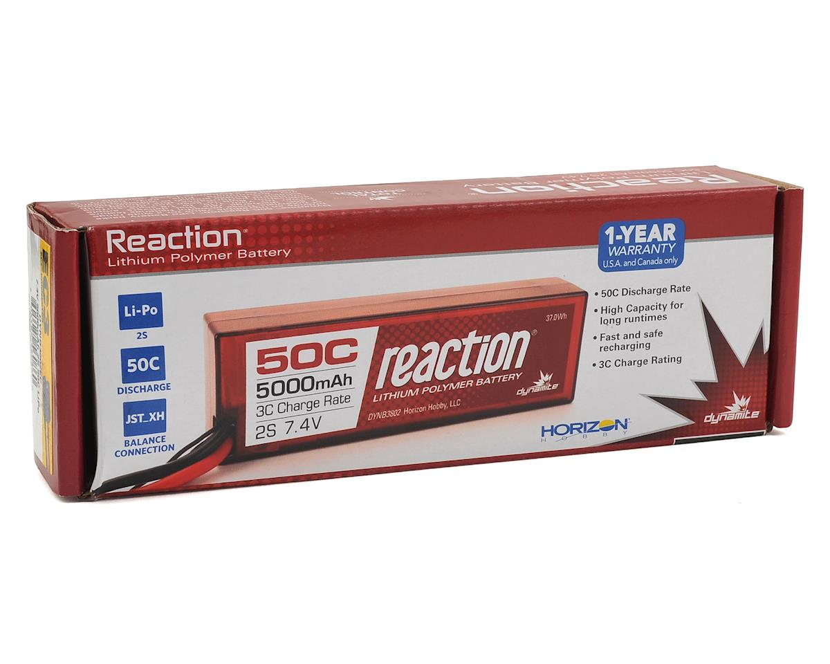Dynamite Reaction 2S 20C Hard Case LiPo Battery w/EC3 Connector (7.4V/5000mAh)