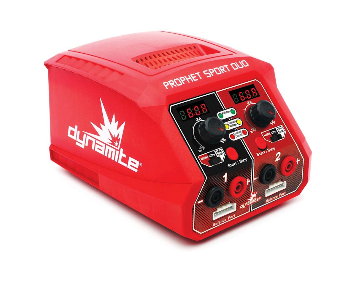Dynamite Prophet Sport Duo Dual AC Charger (3S/6A/50Wx2)