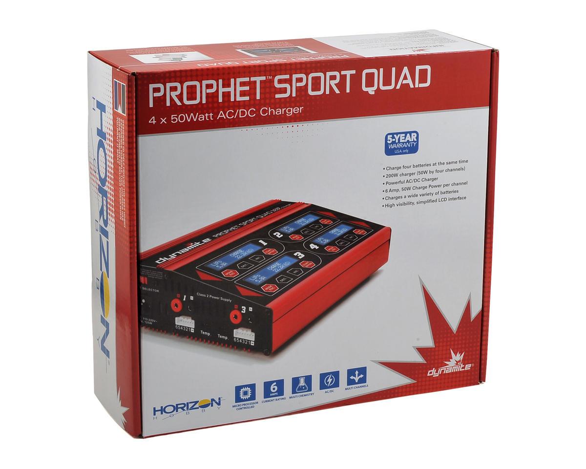Dynamite Prophet Sport Quad AC/DC Charger (6S/6A/50W x4)