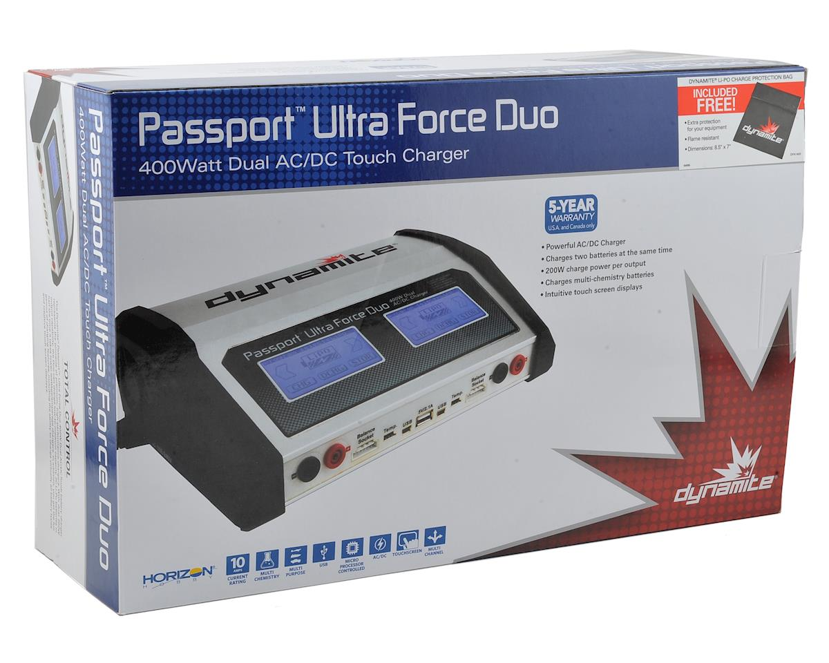 Dynamite Passport Duo Touch HV AC/DC Dual Battery Charger (6S/10A/200W x 2)