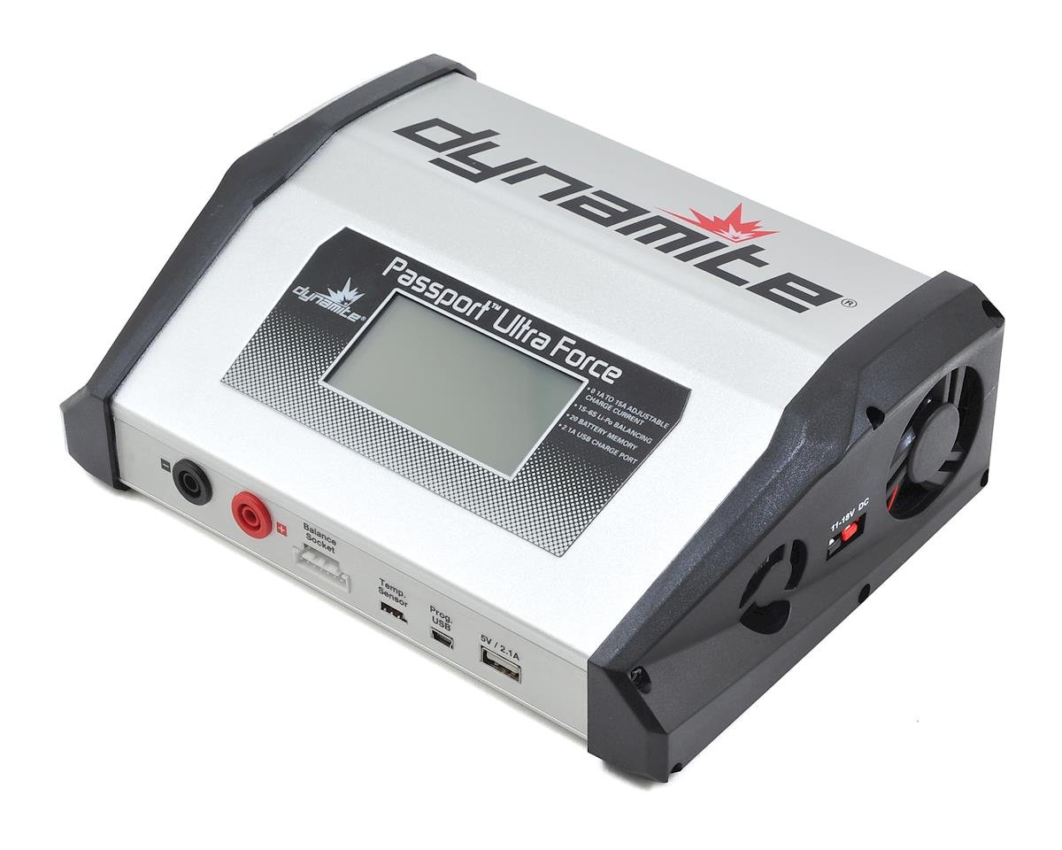 Dynamite Passport Ultra Force 220W Touch Battery Charger (6S/15A/220W)