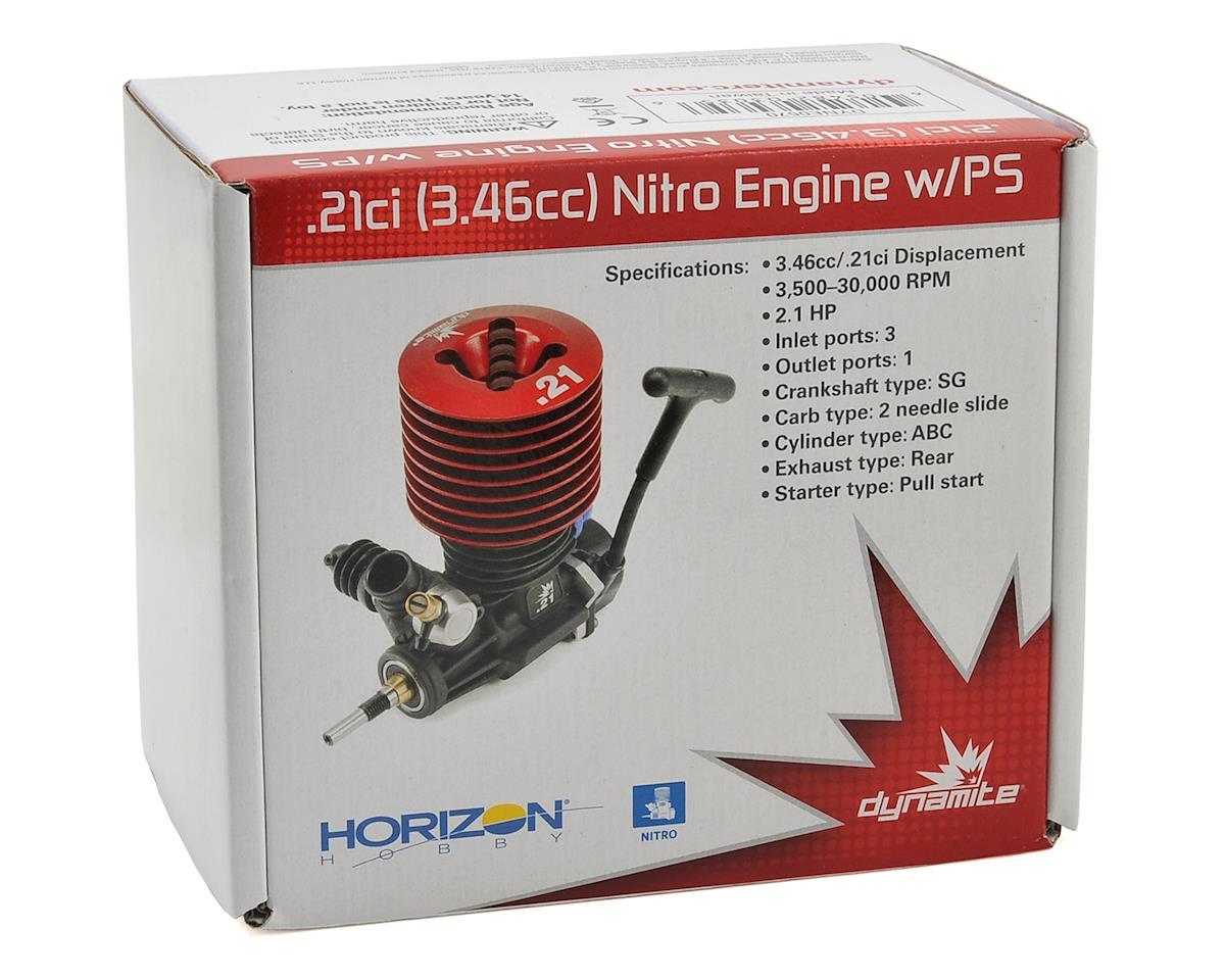 Dynamite .21 RTR Nitro Engine w/Pullstart