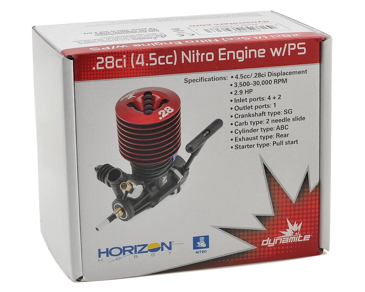 Dynamite .28 RTR Nitro Engine w/Pullstart