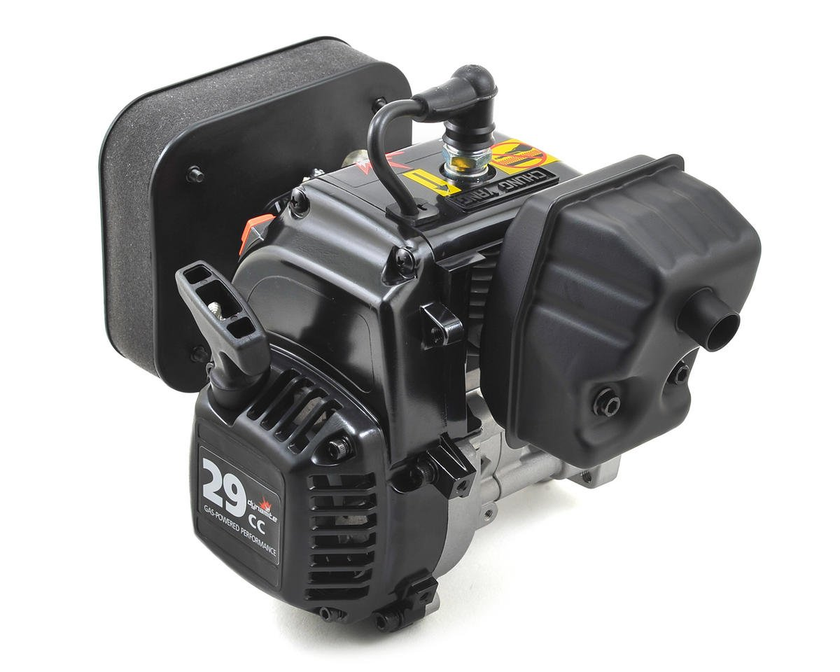 F29 4-Bolt 29cc Gas Engine w/Carb & Air Cleaner by Dynamite