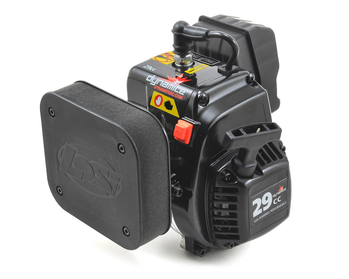 Dynamite F29 4-Bolt 29cc Gas Engine w/Carb & Air Cleaner