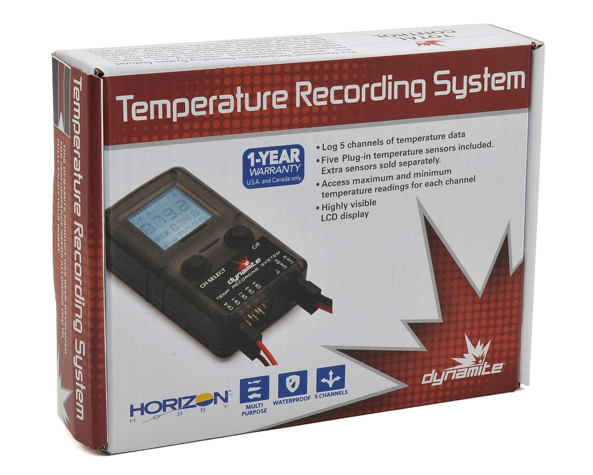 Dynamite Temperature Recording System